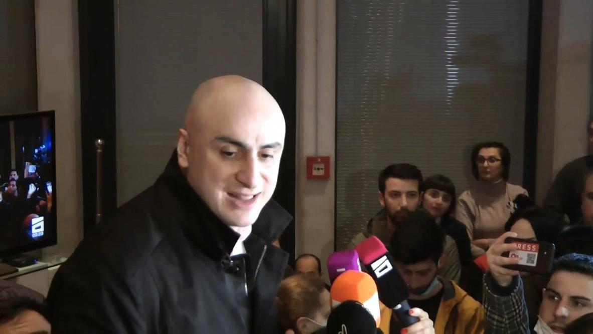 جورجيا: اعتقال زعيم المعارضة نيكا ميليا في تبليسي