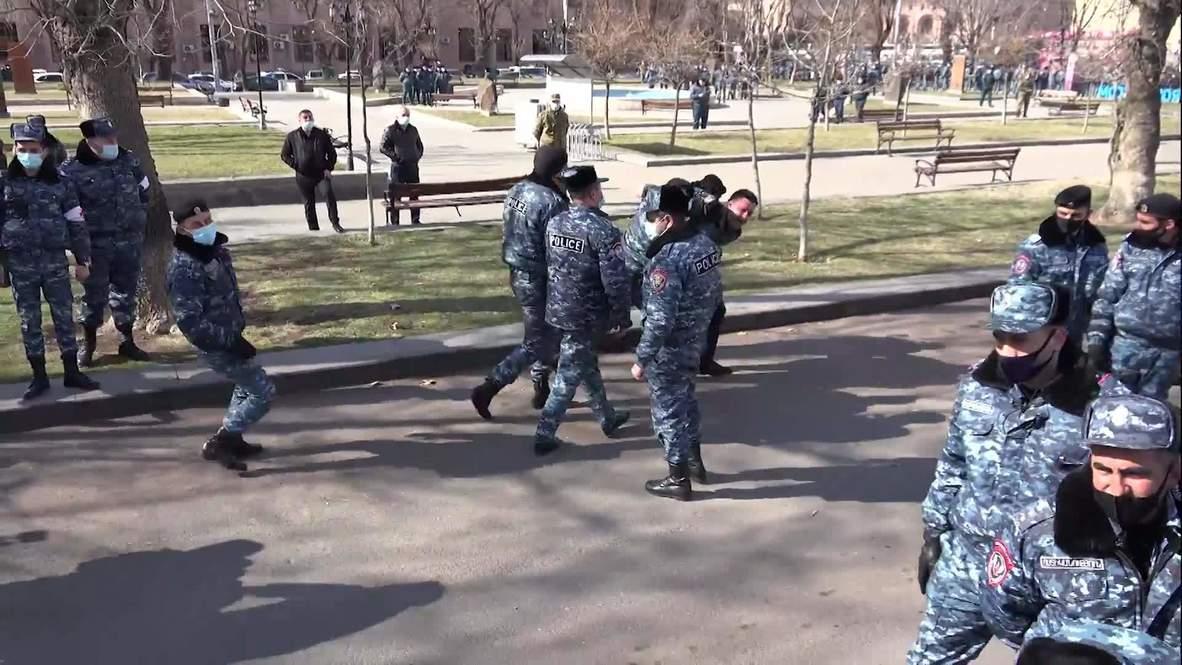 Armenia: Dozens detained at Yerevan rally against PM Pashinyan