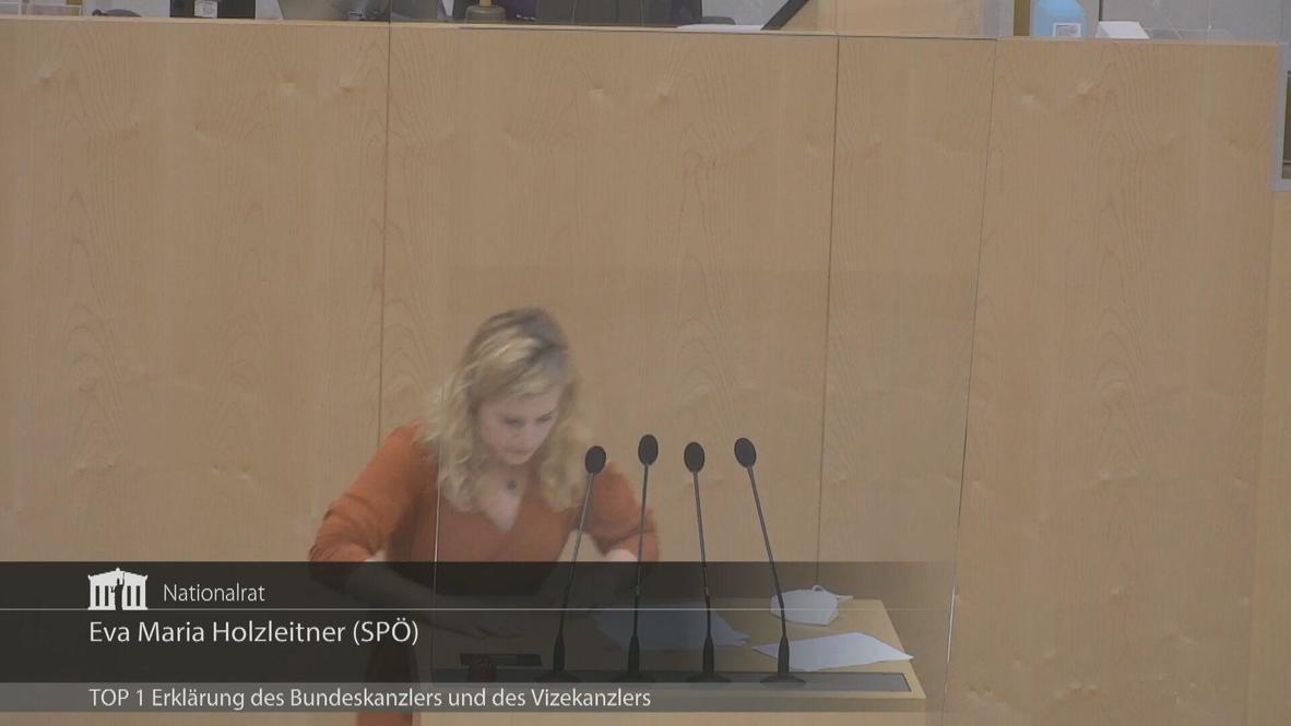 Austria: SPO politician faints mid-address as Parliament holds extraordinary session